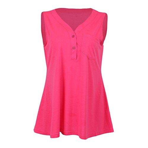 Sharplace Quotidienne Détendu Blouse Sport Rosa Pour Confortable Doux marque Tissu Une Non De Fit Gymnases 3xl Utilisation Respirant 7xY5qf5Rw