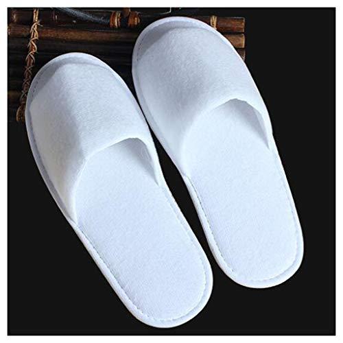 100 Sauna 5 Pairs Stelle Uomo Club Unisex Cm Lyx A White 28 E 6 Per Usa Camerino Pantofole Cinque 10 Getta Donna Hotel Da qnTOBPx