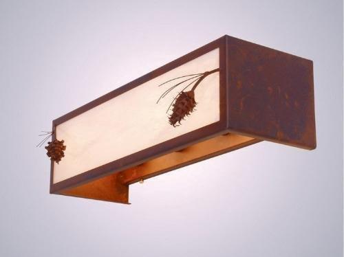 Ponderosa Pine Vanity - 4 Light