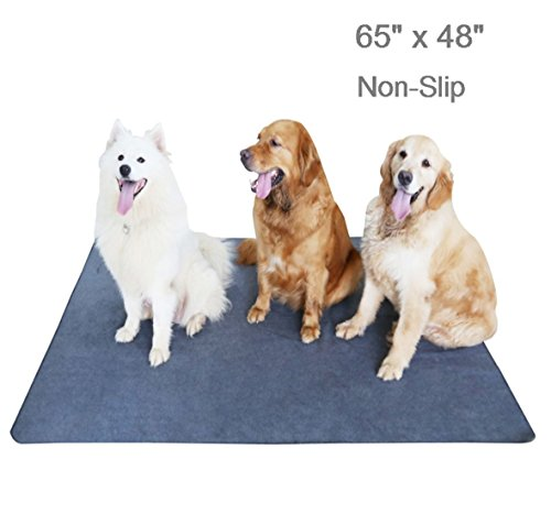 Box Whelping Puppy (Upgrade Non-Slip Dog Pads Extra Large 65