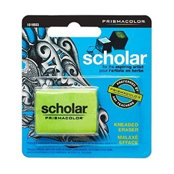 3 X Prismacolor Premier Scholar Eraser, Kneaded (1816553) by Prismacolor (Image #1)