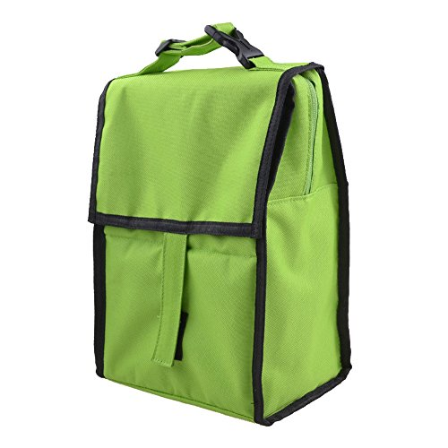 ladies-economy-portable-lunch-cooler-tote-bag-food-box-for-school-or-work-green