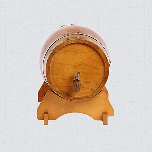 LHome American Oak Aging Barrel Age Your Own Tequila, Whiskey, Rum, Bourbon, Wine 1.32 Gallons Hotel Family Wine Barrel 3L/5L/10L/20L (Color : Style E, Size : 10L) by LHome (Image #5)