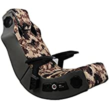 X Rocker 5155801 4.1 Wireless Video Gaming Chair with Vibration, Camouflage