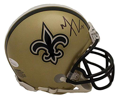 Michael Thomas Autographed/Signed New Orleans Saints Mini Helmet JSA