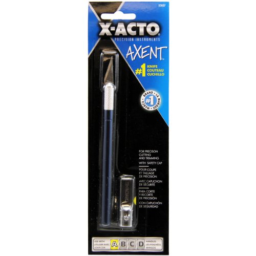 elmers-x-acto-x3037-axent-knife-with-cap-blue