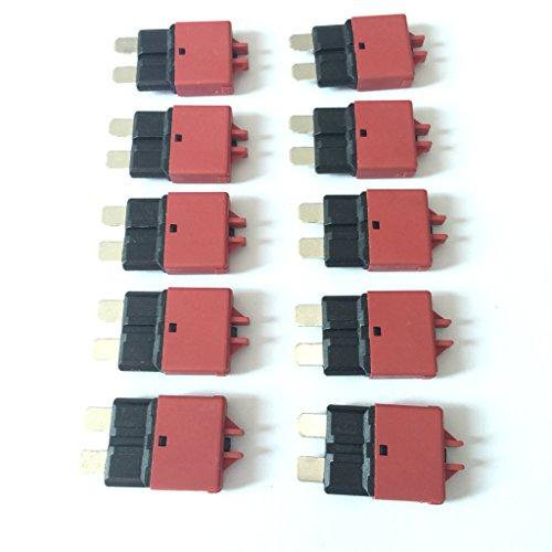 28V DC 10PCS 10A Resettable Universal Circuit Breakers