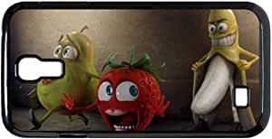 Cartoon Funny Banana Samsung Galaxy S4 i9500 Case Naughty Banana Galaxy S4 Cases Cover Humor & Jokes - abcabcbig store by runtopwell