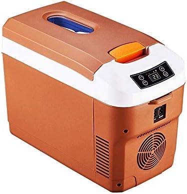 ポータブルミニカー冷蔵庫、キャンプ旅行冷蔵庫クーラー、多機能インテリジェント冷蔵庫ミニ冷蔵庫、デジタルディスプレイシングルコアドロップ25度