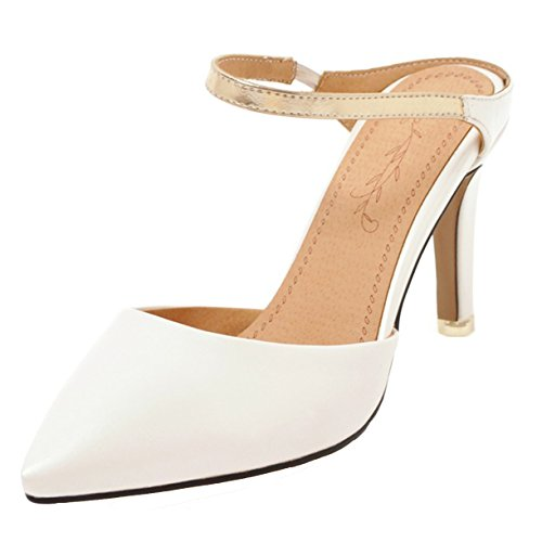 White JYshoes White Mules Femme Mules JYshoes White Femme JYshoes Mules JYshoes Femme q4Agap
