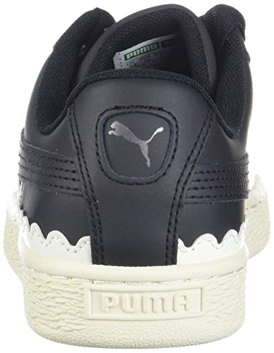 Puma Heart Pumapuma Black Basket Black Femme Scallop 366979 puma UwASrnqU