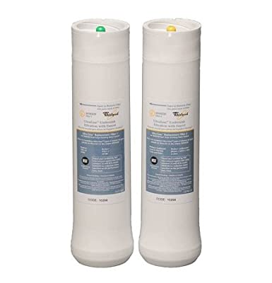 Whirlpool WHEEDF Replacement Filter Set for WHED20 Dual Stage Water Filtration System by Whirlpool