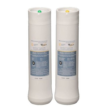 (Whirlpool WHEEDF Replacement Filter Set for WHED20 Dual Stage Water Filtration System by Whirlpool)