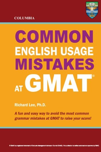 Columbia Common English Usage Mistakes at GMAT