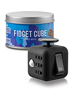 IEASSAU mini gadget cube good for tension, nervousness and anxiety, pressure-relief toy well received by adults and children novelty gift