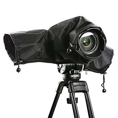 Movo CRC Storm Raincover Protector for DSLR Cameras, Lenses, Photographic Equipment from Movo