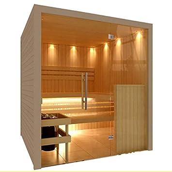 C-QUEL Hochwertige Royal Sauna mit Glasfront 1946 x 1955 x ...
