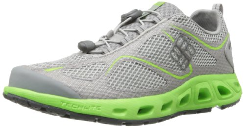 Columbia Men's Powervent Hiking Shoe,Oyster/Coal,11 D US