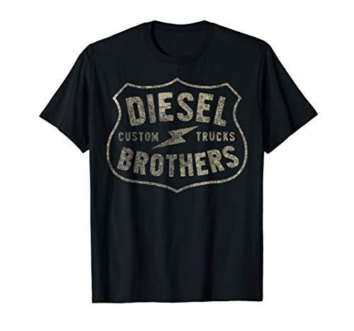 Apparel Womens Diesel (Diesel Brothers Custom Trucks Vintage Sign Graphic T-Shirt)