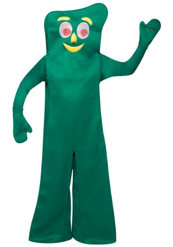Rasta Imposta Gumby Costume, Green, One Size