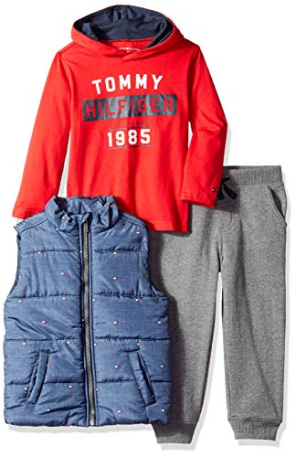 Tommy Hilfiger Boys' Toddler 3 Pieces Vest