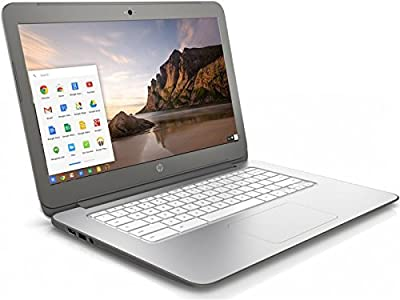 HP Chromebook 14 - New Version Snow White