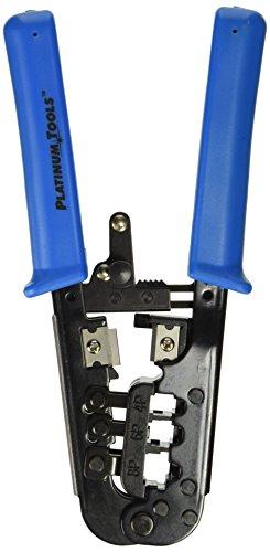 Platinum Tools Platinum 12503C All-In-One Modular Plug Crimp Tool. Clamshell. (One Modular Plug)