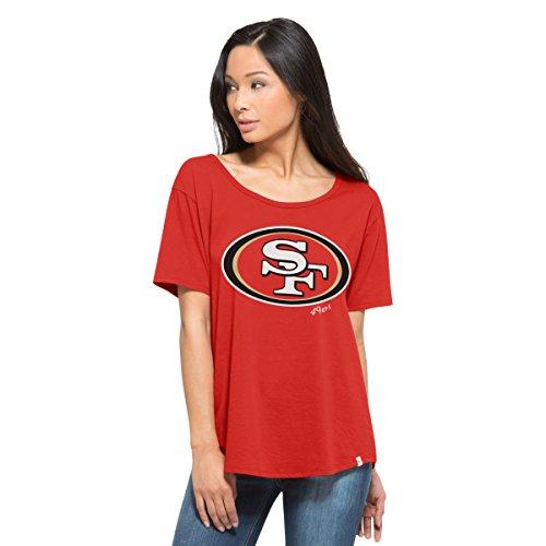 NFL San Francisco 49ers Women's '47 Boyfriend Tee
