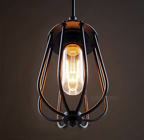 Modern LED Pendant Light Chandelier LED Pendant Lighting Apply to Contemporary Living Room Bedroom Dining Room Antique Edison Industrial Cages Cafe Citron Chandelier ()