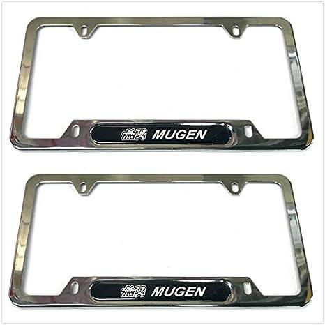 Car Metal License Plate Frame Screw Bolt Cap Cover Frame Holder For GTI