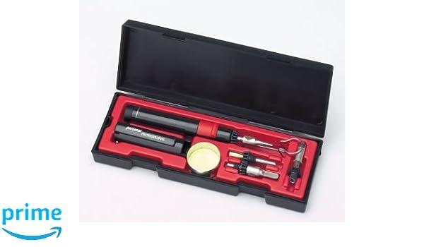 Gas butano Portasol soldadura Iron Kit P-1K: Amazon.es: Industria, empresas y ciencia