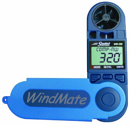 WindMate WeatherHawk WM-200 Hand-Held Wind Meter, Blue