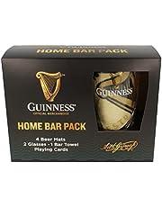 Oficjalny zestaw Guinness Home Bar Pack z matą, okularami, ręcznikiem i kartkami