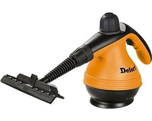 Defort DSC-1200 elektrischer Dampfreiniger mit umfangreichem Zubehör, 1200 W