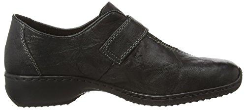 Zapatos RiekerL3870 Cordones Negro Mujer Black Sin 00 8qqrw75U