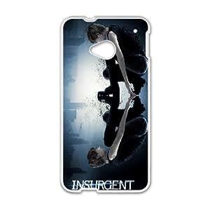 Insurgent C-U-N3070242 HTC One M7 Phone Back Case Customized Art Print Design Hard Shell Protection