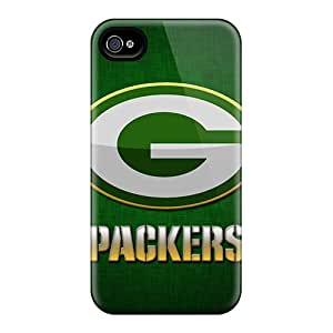 Iphone 4/4s Cover Case - Eco-friendly Packaging(green Bay Packers)