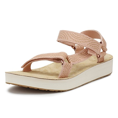 Teva Midform Universal Geometric Women's Walking Sandals - SS18 Tropical Peach