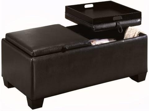 Homelegance Contemporary Storage Ottoman Bench