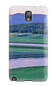 New Arrival Premium Note 3 Case Cover For Galaxy (awesome Ip Yellowstone Lake )