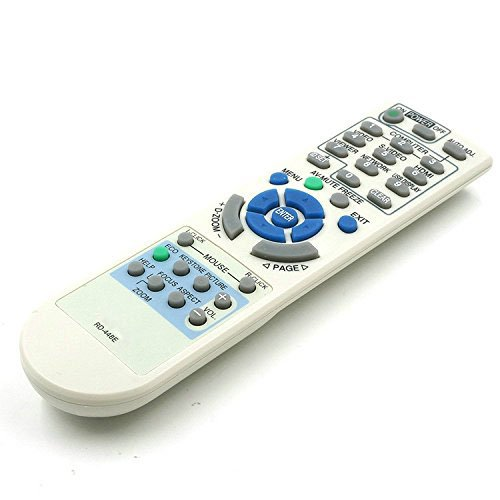 New Replacement NEC Projector Remote Control RD-448E for VT37 VT47 VT48 VT49 VT58 VT59 VT375 VT380 VT470 VT480 VT490 VT491 VT495 VT570 VT575 VT580 VT590 VT591 VT595 VT670 VT675 VT676 VT695 VT700 VT800 LT25 LT30 LT35 LT37 LT180+ LT280 LT380 M230X+ M260X+ M