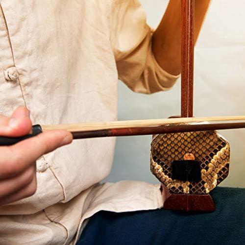 4pcs Pferdehaar Mongolei Schwanz Violine Cello Erhu Bogen Haare für String