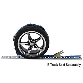 Wheel Strap with Etrack Fittings & 3 Rubber Blocks