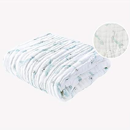 Toallas de baño para niños, gasa de algodón, súper suave, transpirable, súper