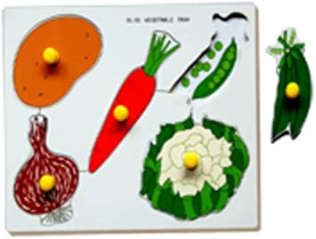 Little Genius Vegetables - Double Layer