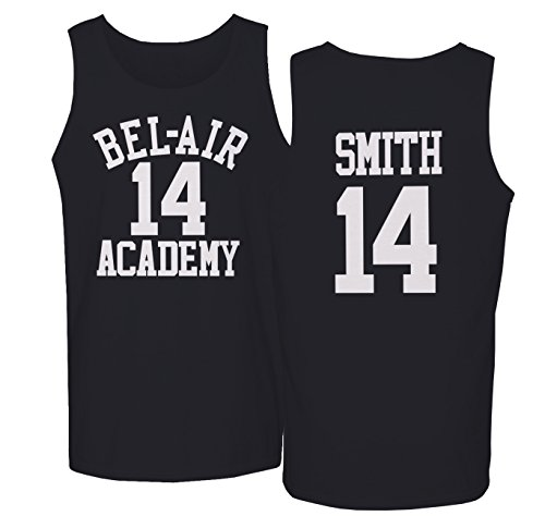The Fresh Prince Of Bel Air Academy Will Smith Basketball Men's Tank Top (Fresh Prince Of Bel Air Halloween)