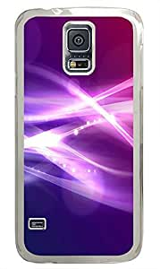 Samsung Galaxy S5 original covers Abstract Light Id04 PC Transparent Custom Samsung Galaxy S5 Case Cover