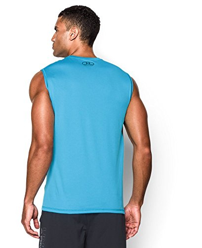 Under Armour Men's UA Tech™ Sleeveless T-Shirt Extra Extra Large ISLAND BLUES
