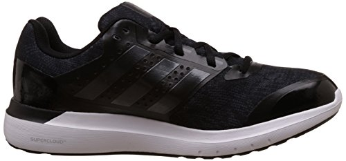 quality design 2a9ad 9e336 Adidas Mens Duramo Elite 2M Black, Silver and Dark Grey Mesh Sport Running  Shoes - 12 UK Buy Online at Low Prices in India - Amazon.in