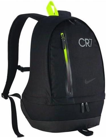 Nike CR7 FB Cheyenne BACPACK Fußballrucksack, SchwarzAnthrazitVolt, 52.4 x 39.8 x 12.9 cm